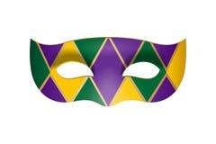 Máscara de la mascarada del carnaval del vector Imagen de archivo libre de regalías