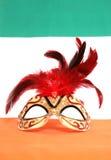 Máscara de la mascarada del irlandés Fotos de archivo libres de regalías