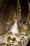 Máscara de la mujer imagen de archivo