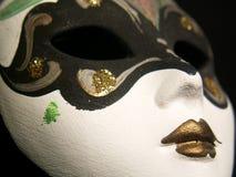 Máscara de la mujer de Venecia Fotos de archivo