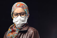 Máscara de la neblina Fotografía de archivo