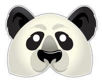 Máscara de la panda Foto de archivo libre de regalías