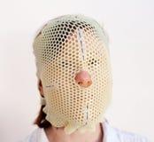 Máscara de la radioterapia Imagenes de archivo