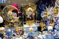 Máscara de la tienda de Venecia Fotografía de archivo libre de regalías