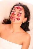 Máscara de la uva roja Foto de archivo libre de regalías