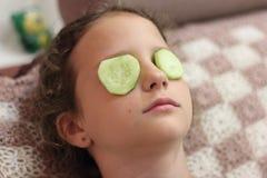 Máscara de la vitamina Imagen de archivo