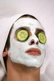 Máscara de limpeza Fotos de Stock