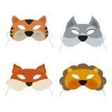 Máscara de los animales Imagen de archivo