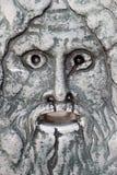 Máscara de mármore Imagens de Stock