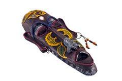 máscara de madeira da cultura dos tribos de África fotografia de stock