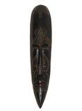 Máscara de madera étnica Imágenes de archivo libres de regalías