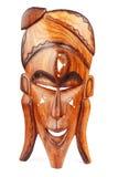 Máscara de madera Imágenes de archivo libres de regalías