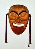 Máscara de madera Imagenes de archivo