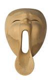 Máscara de madera Imagen de archivo