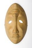 Máscara de madera fotos de archivo