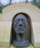 Máscara de morte de Bruce Reynolds Grande ladrão do trem foto de stock royalty free