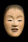 Máscara de Noh Imagen de archivo libre de regalías