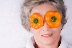 Máscara de ojo Foto de archivo