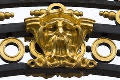 Máscara de oro Imagen de archivo