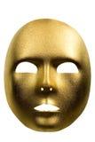 Máscara de oro Fotos de archivo libres de regalías