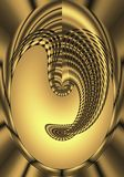 Máscara de oro ilustración del vector