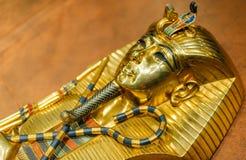 Máscara de oro de Tutankhamun Fotografía de archivo libre de regalías
