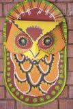 Máscara de Owl_Wall para las festividades de los Años Nuevos de Bangla Imagen de archivo
