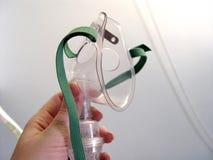 Máscara de oxígeno Fotos de archivo libres de regalías