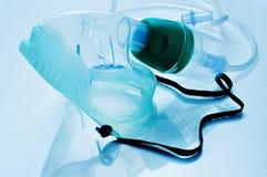 Máscara de oxigênio médica Imagens de Stock Royalty Free
