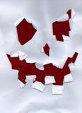 Máscara de papel Fotografía de archivo
