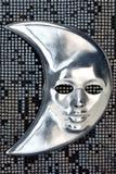 Máscara de la luna Fotos de archivo