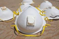 Máscara de polvo imágenes de archivo libres de regalías