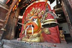 Máscara de Seto Bhairab foto de stock royalty free
