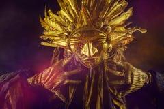 Máscara de Sun Foto de archivo libre de regalías