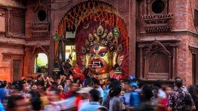 Máscara de Swet Bhairav fotos de stock royalty free
