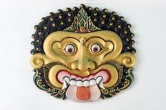 Máscara de Thet no palácio do sultanato de Yogyakarta Fotos de Stock