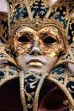 Máscara de Venecia Fotografía de archivo libre de regalías