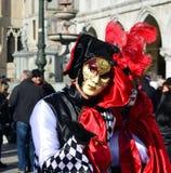 Máscara de Venecia Fotos de archivo