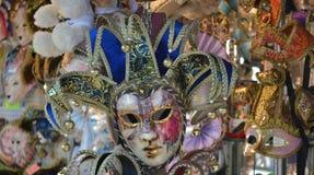 Máscara de Venecia Imágenes de archivo libres de regalías