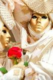 Máscara de Venecia, carnaval. Fotografía de archivo