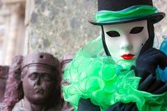 Máscara de Venecia, carnaval. Imagenes de archivo