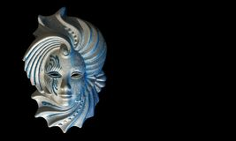 Máscara de Venecian Ilustração Stock