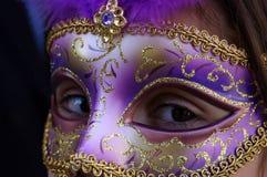 Máscara de Veneza Fotografia de Stock Royalty Free