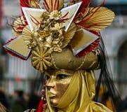Máscara 8 de Venezian Imagen de archivo