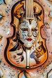 Máscara 14 de Venezian Imagem de Stock