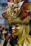 Máscara 11 de Venezian Fotografía de archivo