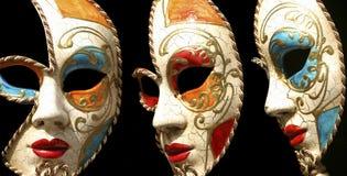 Máscara de Venezian. Italia Foto de archivo libre de regalías