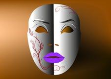 Máscara decorativa Imagenes de archivo