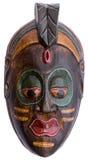 Máscara decorativa de madeira Fotos de Stock Royalty Free
