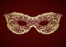 Máscara decorativa decorativa do carnaval Fotografia de Stock Royalty Free